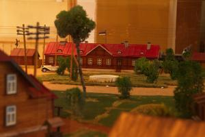 Model of Elva railway station from 1920