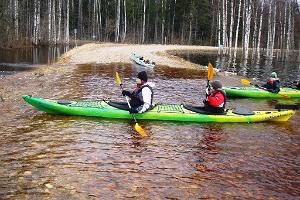 Seikle Vabaks fifth season kayaking trip in Soomaa