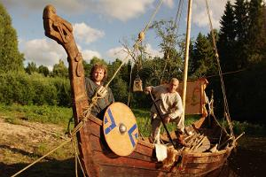 Viking Village warriors and fun near Tallinn