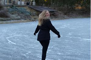 Skating at Kõrveküla Holiday Centre!