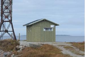 Birdwatching hut in Põõsaspea cape