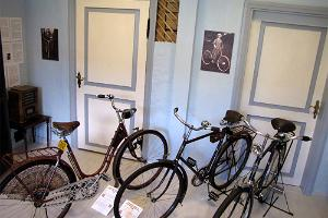 Blue Room of the Estonian Bicycle Museum