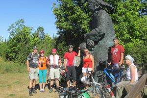 Educational bicycle tours on the beautiful Muhu island