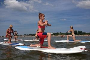 Aloha Surf Centre - SUP yoga