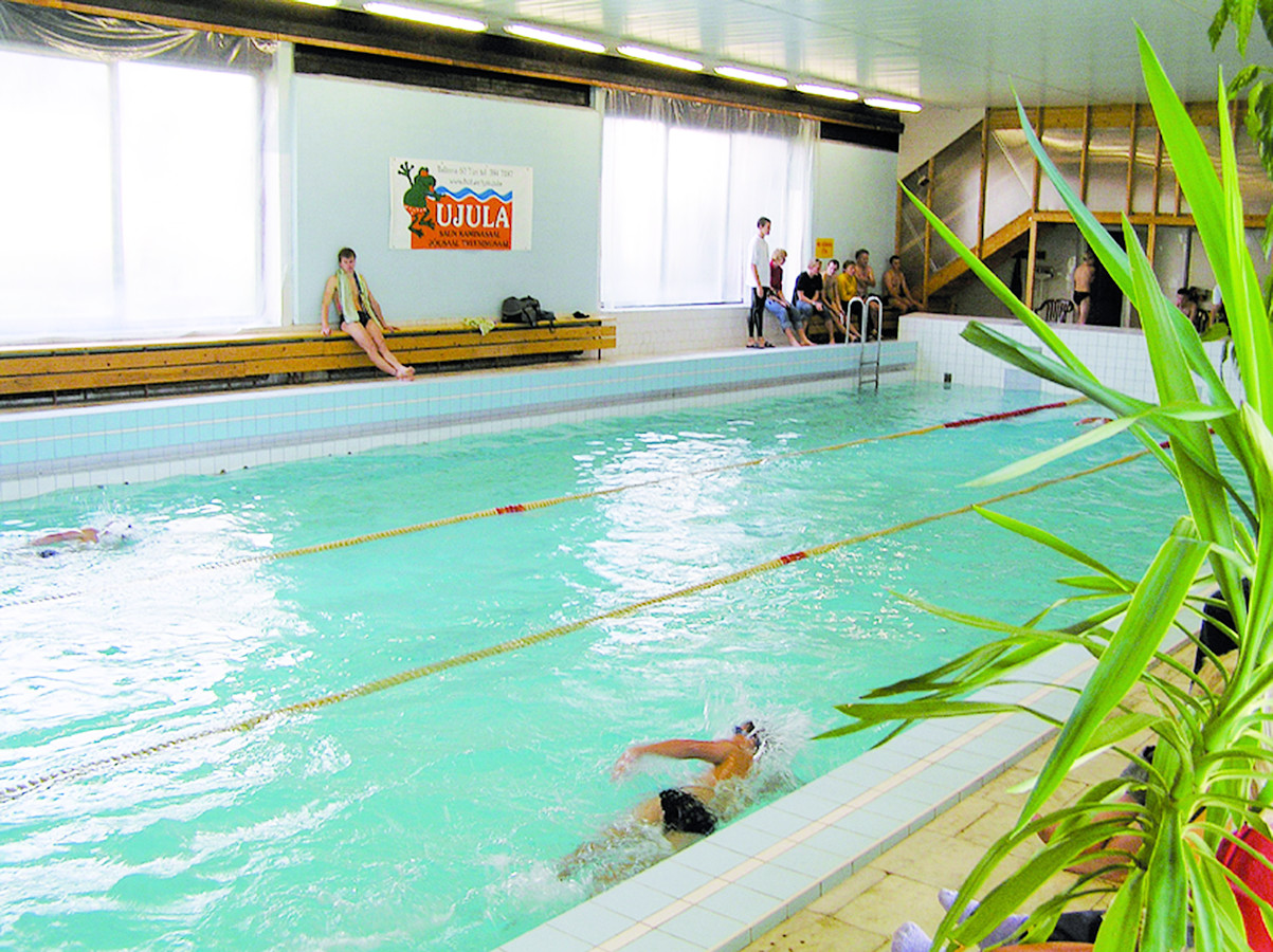 Pool in Türi public sports hall