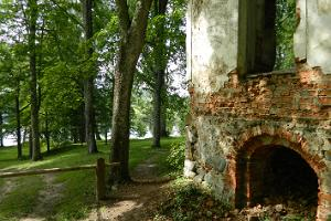 Ruins of the Uue-Saaluse manor