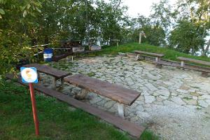 Barbecue area of the Mereoja