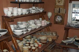 Piusa Pottery ceramics studio