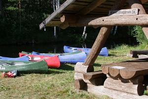 Sinijärve camping site is perfect for those who want to have a two-day trip