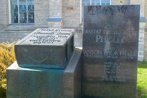 Monument to the Estonian translation of the Bible