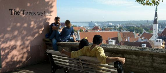 Picture perfect views of Tallinn