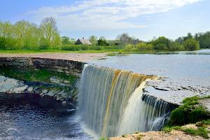 Jägala waterfall and historical Jõelähtme