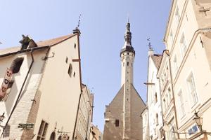 Walk in Tallinn's Old Town