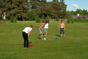 Sports games at UusKalda Sports and Holiday Village - footgolf