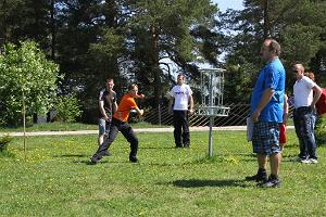 Sports games at UusKalda Sports and Holiday Village - disc golf