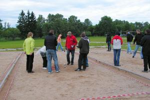 Sports games at UusKalda Sports and Holiday Village - petanque competition