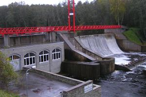 Linnamäe hydro-electric power station