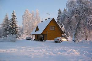 Winter holiday at the Kalda Holiday Home