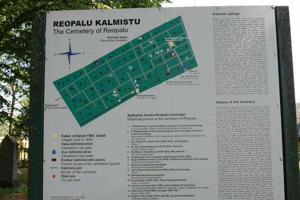 Reopalu Cemetery in Paide