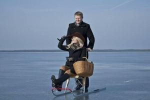 Kick sledge rental in Haapsalu