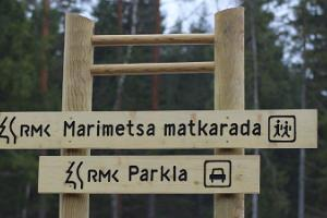 Marimetsa hiking trail
