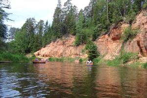 Livonia Matkad unguided multi-day canoe trips on the lovely Salatsi river