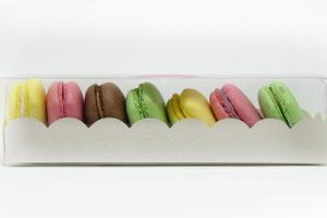 Cafe Mademoiselle macaroons