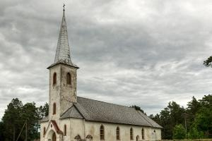 Urbanuse Church in Varbla