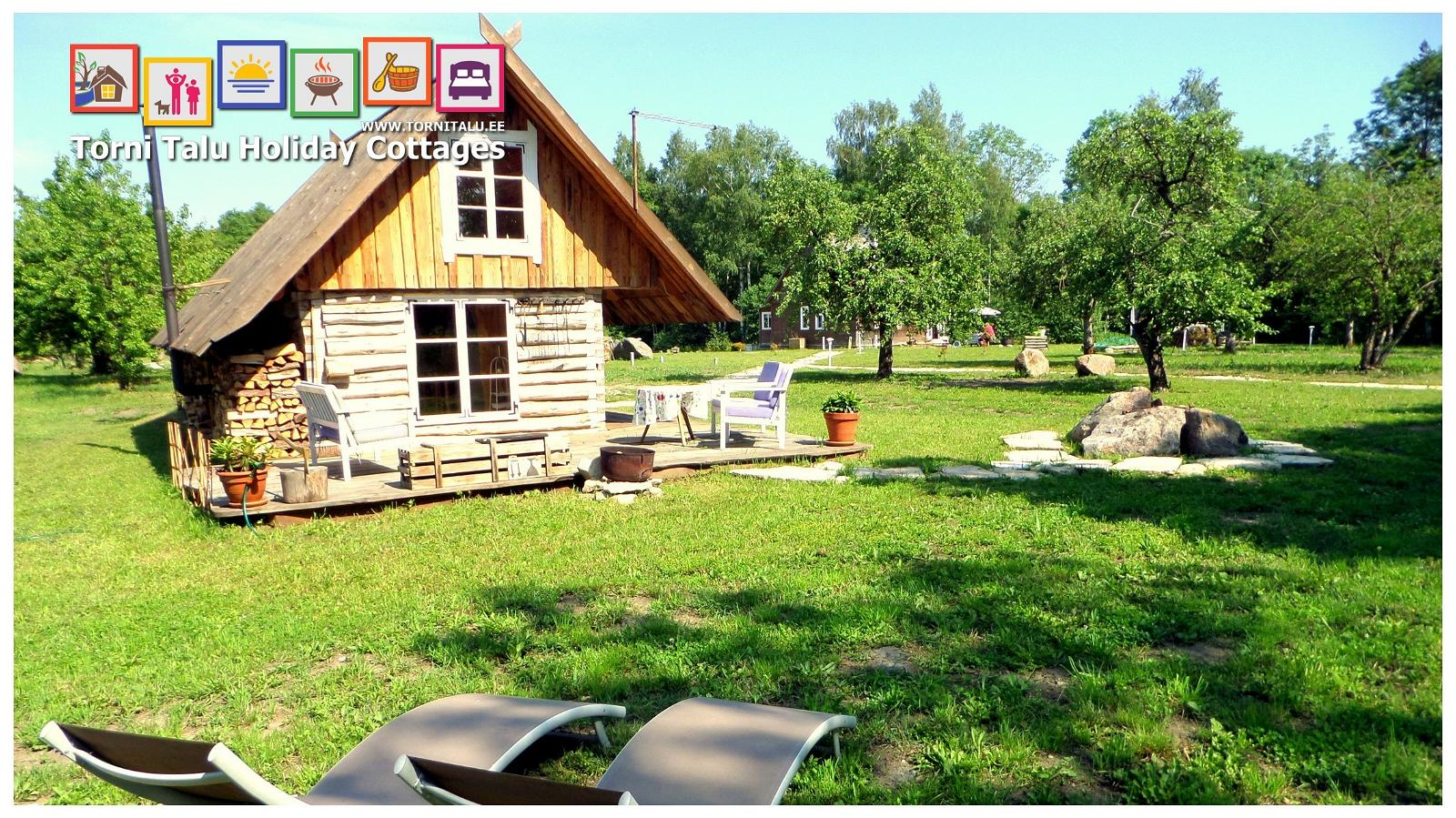 torni talu holiday cottages barn house with a bath and a