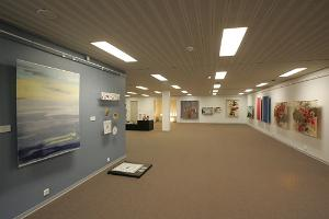 Galleries at Estonian National Library