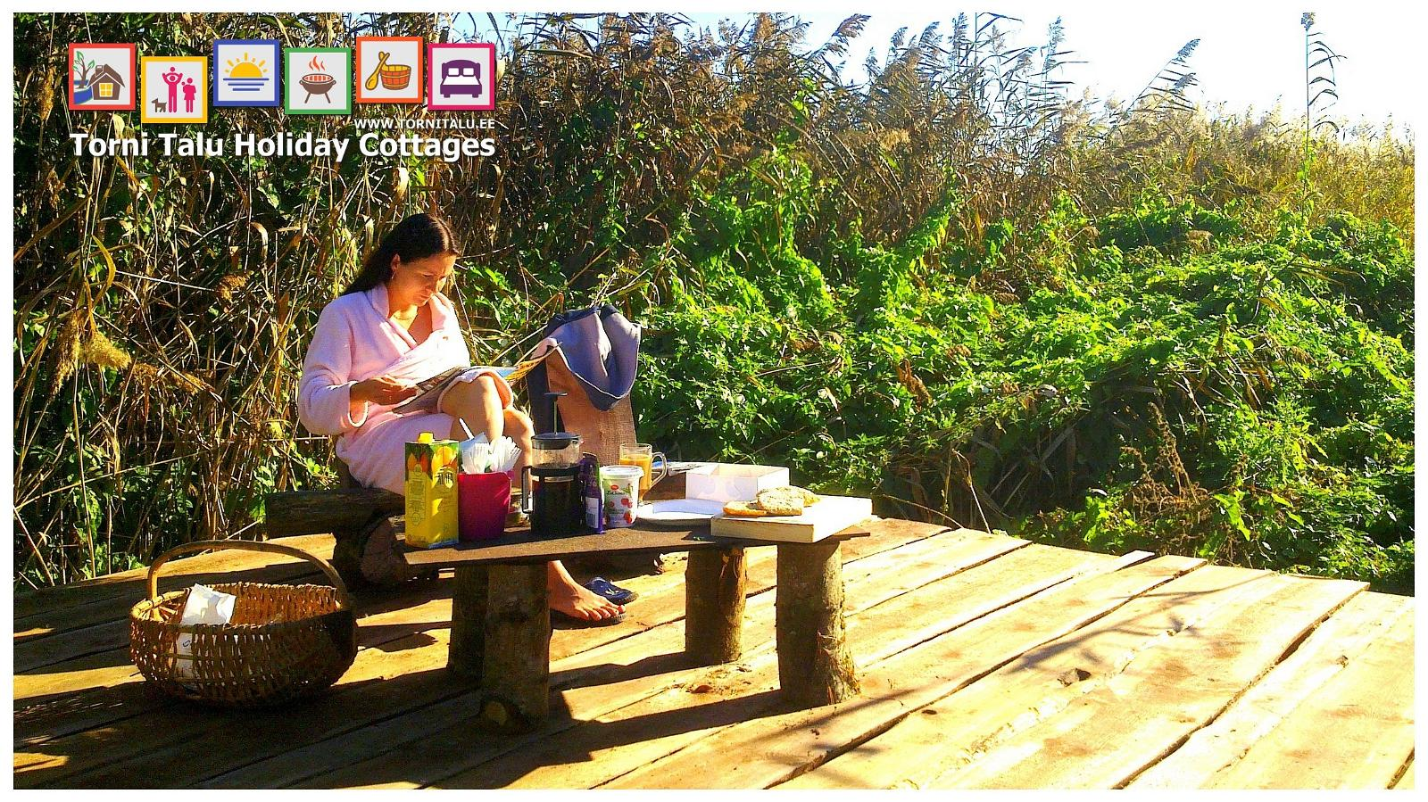 Torni Talu Cottages Sea Side Barbecue And Camping Site