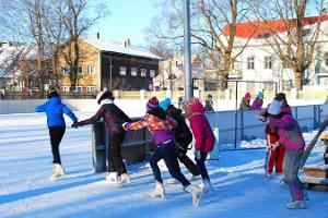 Skating rink on Pärnu Children