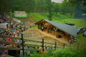 Kalju open-air stage at Kallaste Holiday Resort