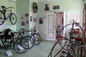 Green Room at the Estonian Bicycle Museum