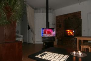 Private Apartment For You, fireplace