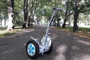 Rent a self-balancing unicycle