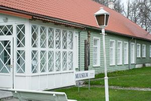 Long House at Hiiumaa Museum
