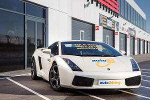 Driving a Lamborghini Gallardo at auto24ring