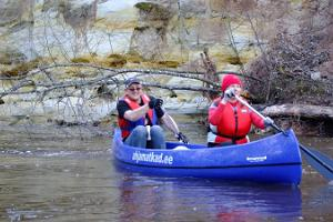 High water adventures on Peetri River