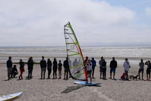 Windsurfing rental and training by Pärnu Surf in Pärnu beach