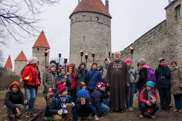 "Guided tour ""Tõrvikute valgel"" in Tallinn Old Town"