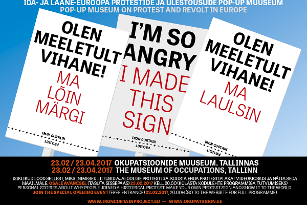 "Exhibition and pop-up museum ""I'm so angry!ˮ"