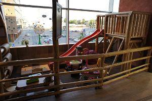 Play area for children of up to 8 years at Ränduri Pub in Tartu