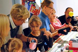 Workshop for children at the Pärnu Museum