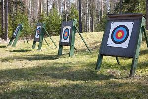 Archery at Kõveri Holiday Centre