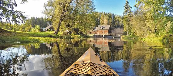Kayaking in Estonia through bloggers' eyes