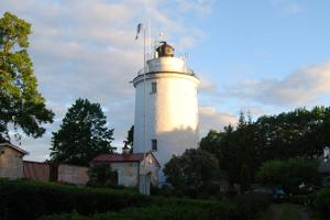 Suurupi lighthouses at sunrise