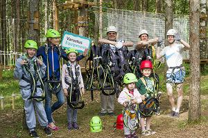K-Pargi Seikluspark Kuressaares: Put on  innovated safety EDELRID equipment first )