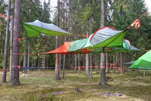 accommodation in tentsile tent