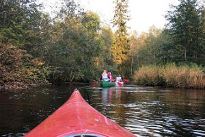 Canoe trips on the rivers of Lahemaa National Park